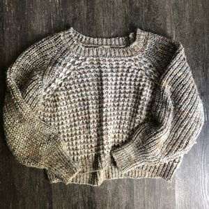 Moth for Anthropologie chunky knit sweater